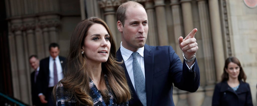 The Duchess of Cambridge Joins Prince William in Manchester After Her First-Ever Solo Tour