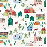 Christmas Town Wrapping Paper Roll