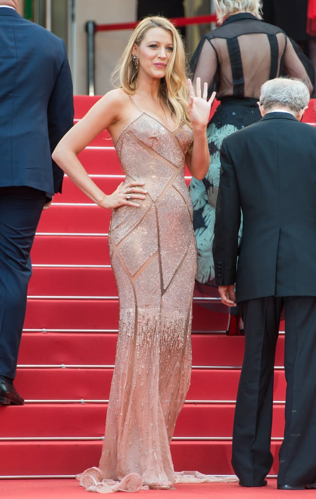 Blake Lively has been a complete fashion delight so far at the Cannes Film Festival, which she is visiting in her roles as L'Oréal Paris ambassador and star of the opening night film, Café Society. Promoting the film has given Blake numerous occasions to show her style-star credentials; on her first official day of the festival, Blake stepped out in no less than three designer looks. It's been a fun challenge keeping up with all of the glamour Blake's throwing our way. So we've gathered all of her amazing 2016 Cannes Film Festival looks all in one place — read on to see Blake's festival style, so far.