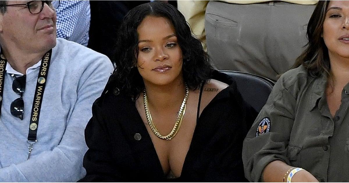 d97fcca07855 Rihanna and Kevin Durant at NBA Finals 2017