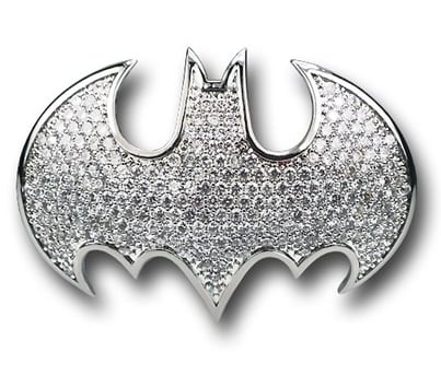 Batgirl Double-Knuckle Ring ($280)