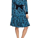 Gal Meets Glam Collection Taylor Crepe Shirtdress