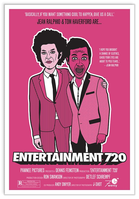 Entertainment 720 Movie Poster ($20)