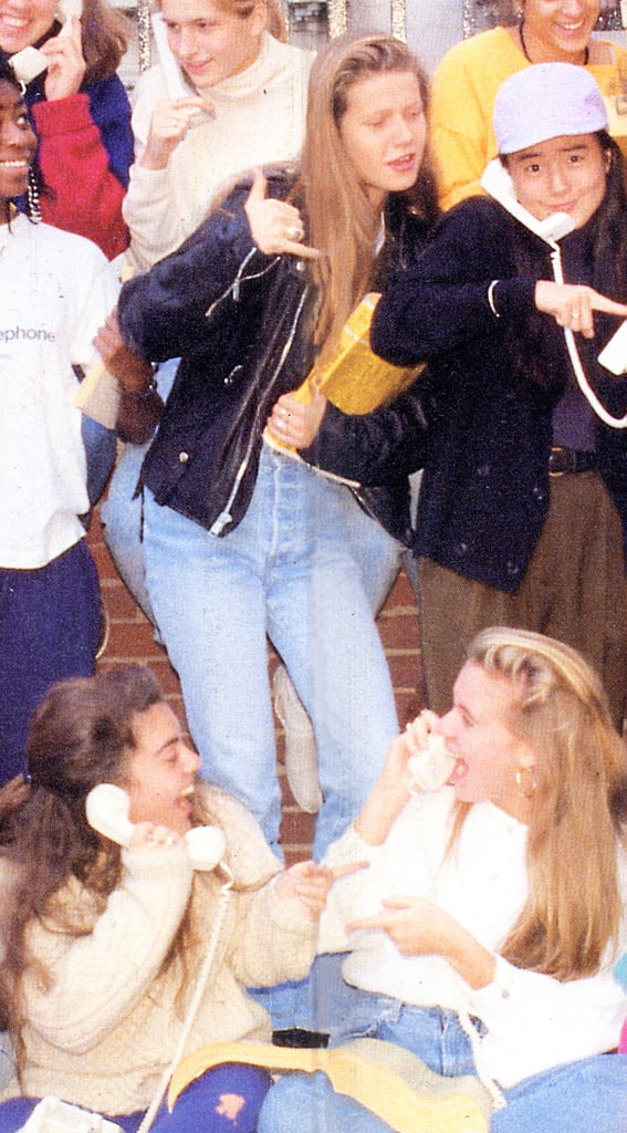 Gwyneth Paltrow was caught in a cute moment with her high school friends.