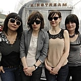Janet Weiss, Carrie Brownstein, Mary Timony, and Rebecca Cole