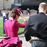 Royal Family at Princess Eugenie's Wedding