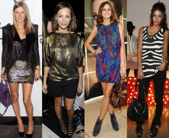 Celebrity Style at Spring 2010 New York Fashion Week