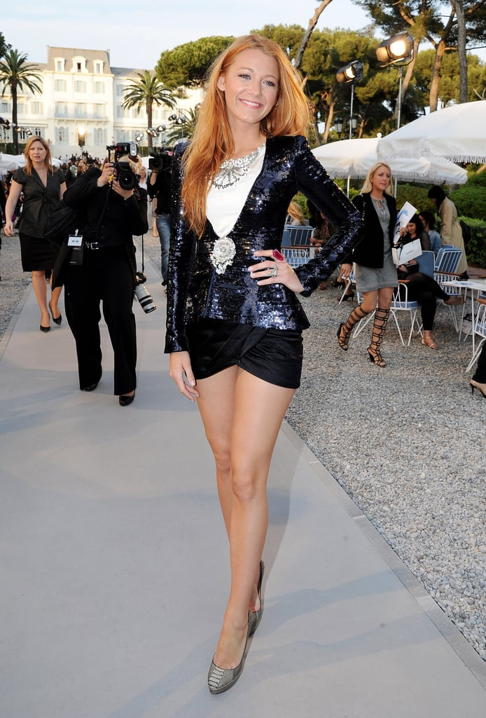 Blake Lively in Chanel Spring Couture 2008.
