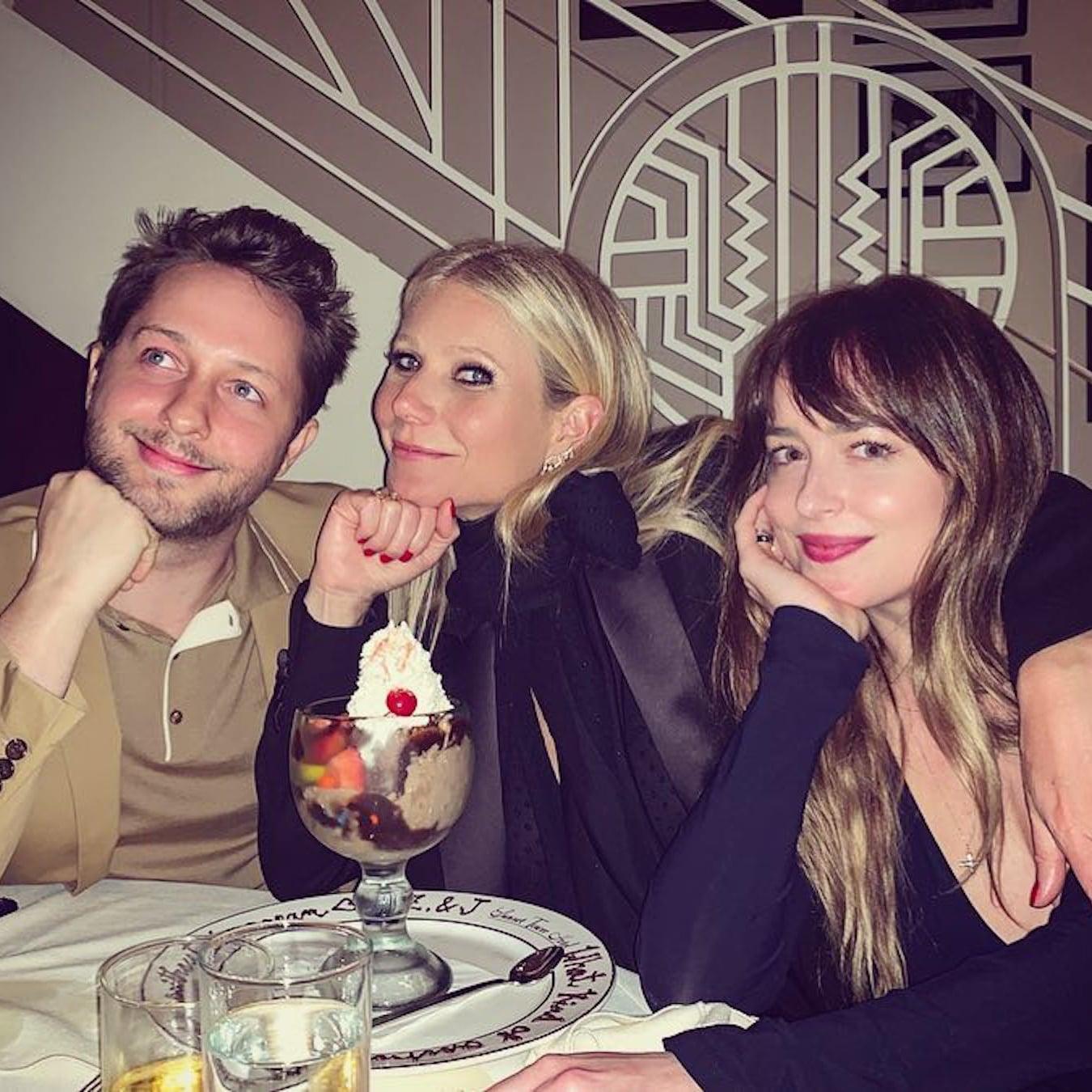 Gwyneth Paltrow and Dakota Johnson at Party April 2019 | POPSUGAR Celebrity UK
