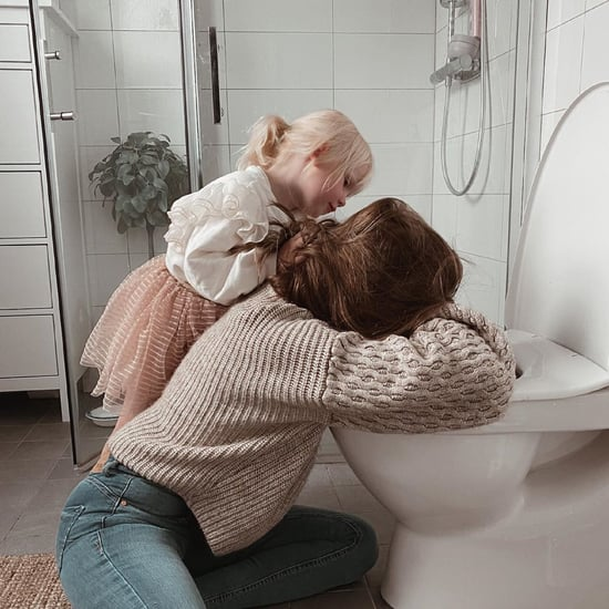 Why This Husband Photographed His Pregnant Wife Puking