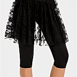 Skirts and leggings are normal, but when stuck together, like with this Guess by Marciano Lace and Leggings Skirt ($70, originally $98), they're just strange. What if you want to wear the skirt sans leggings?