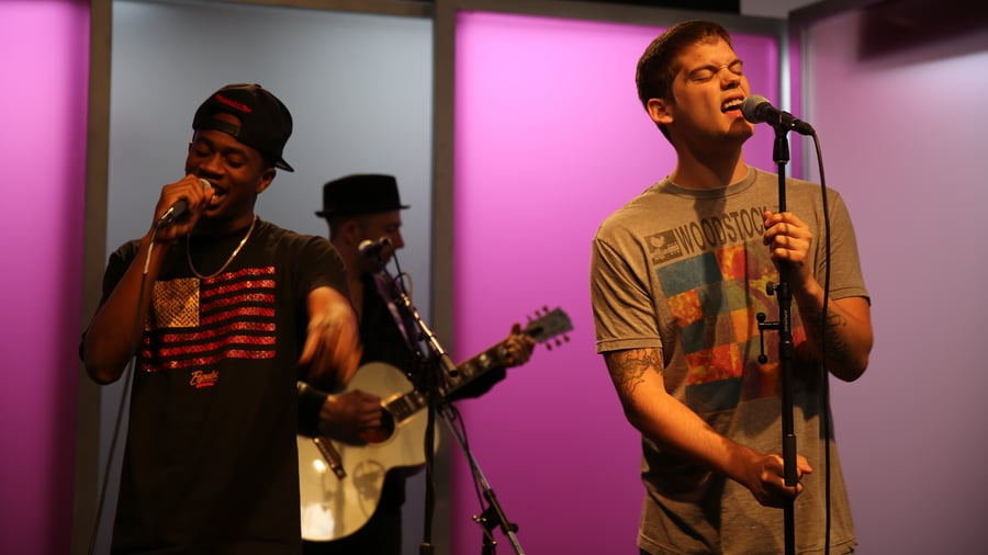 "Watch MKTO Perform Their Summer-Ready Single ""Thank You"" and Talk About Their ""Unique"" Sound"