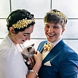 When this couple's brilliant idea to have kittens at their wedding.