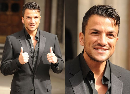 Photos of Peter Andre at High Court