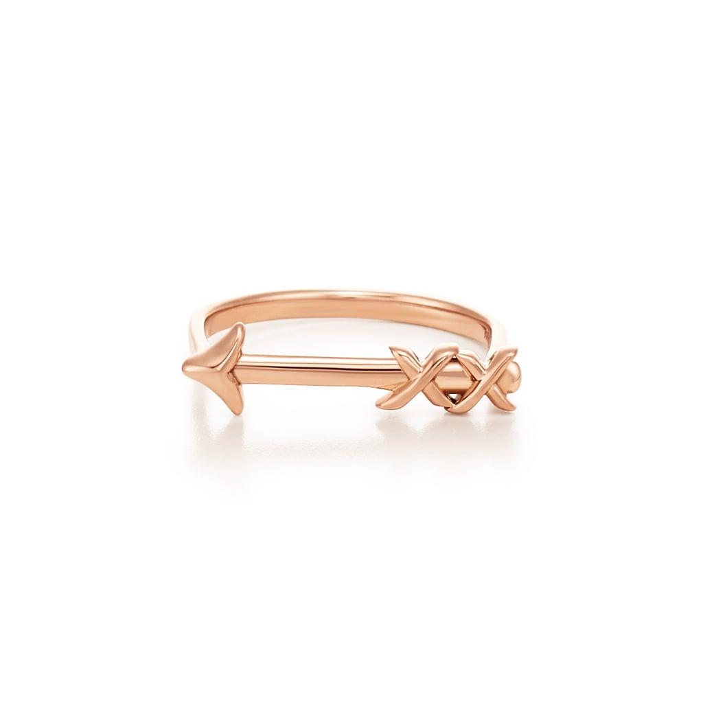 Merida: Tiffany & Co. Paloma's Graffiti Rose Gold Arrow Ring