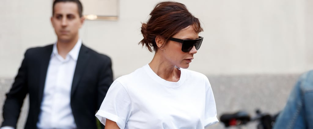 Victoria Beckham Wore the Anti-Jeans and White Tee For Summer
