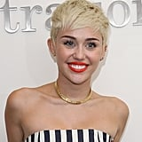 Miley Cyrus at the Seacrest Studios Debut in March 2013