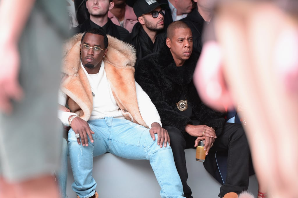 Diddy and Jay Z at NYFW