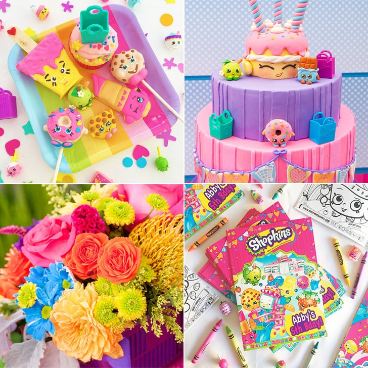 Shopkins Birthday Party Ideas POPSUGAR Moms