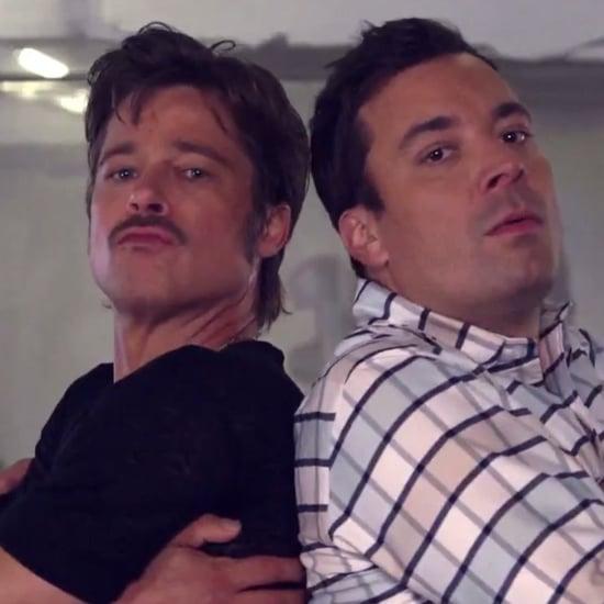 Brad Pitt's Breakdance Conversation on The Tonight Show