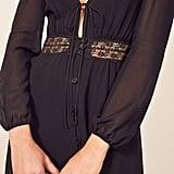 Reformation Imogen Dress in Black