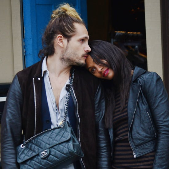 Zoe Saldana and Marco Perego Cute Pictures
