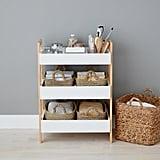 White Multi-Purpose 3-Tier Shelf
