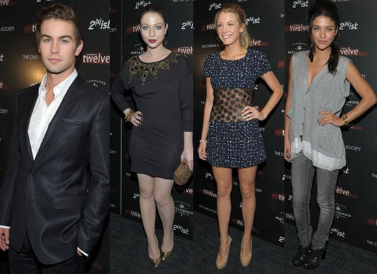 Pictures of Chace Crawford, Blake Lively, Michelle Trachtenberg, Jessica Szohr, Ewan McGregor at Twelve NYC Screening