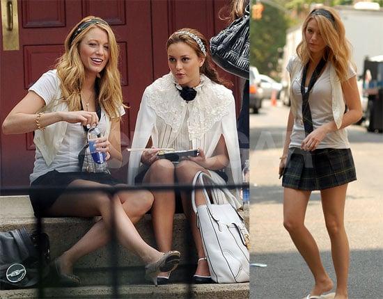 Photos of Gossip Girl's Leighton Meester, Jessica Szohr, & Blake Lively, Supposedly Jealous of Penn Badgley's New Love Interest