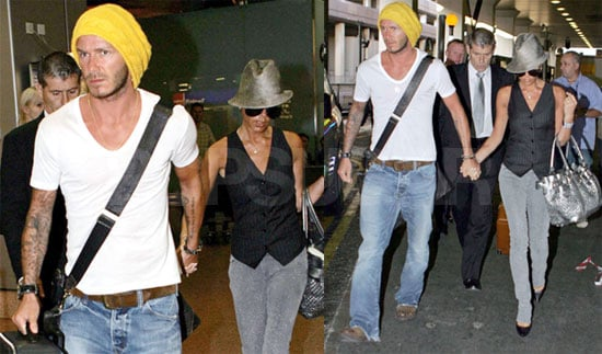 The Beckhams Wear Many Hats