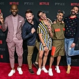 They Clowned Around at a Netflix Event in LA