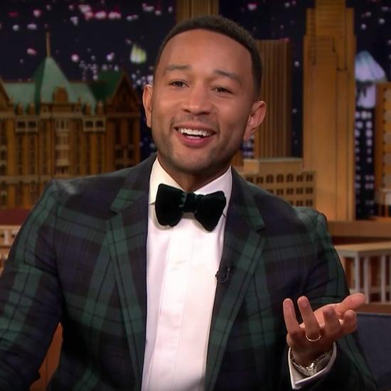 John Legend on The Tonight Show Video December 2018
