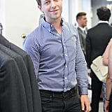 Derek Blasberg joined Margaret Russell and Thom Browne in feting the September issue of Architectural Digest at the menswear designer's New York shop.