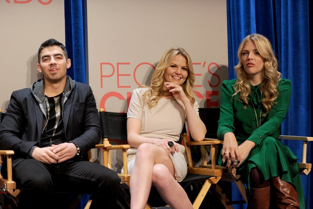 Joe Jonas, Jennifer Morrison, and Busy Philipps at the 2011 at the People's Choice Awards nominations.