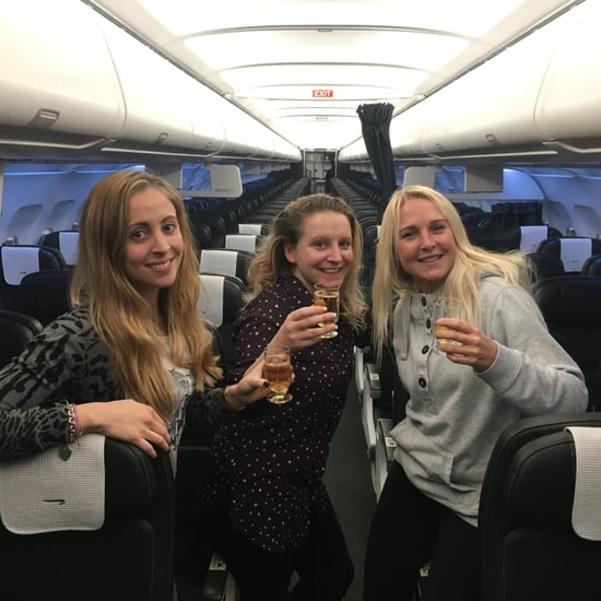 Women Alone on British Airways Flight December 2016