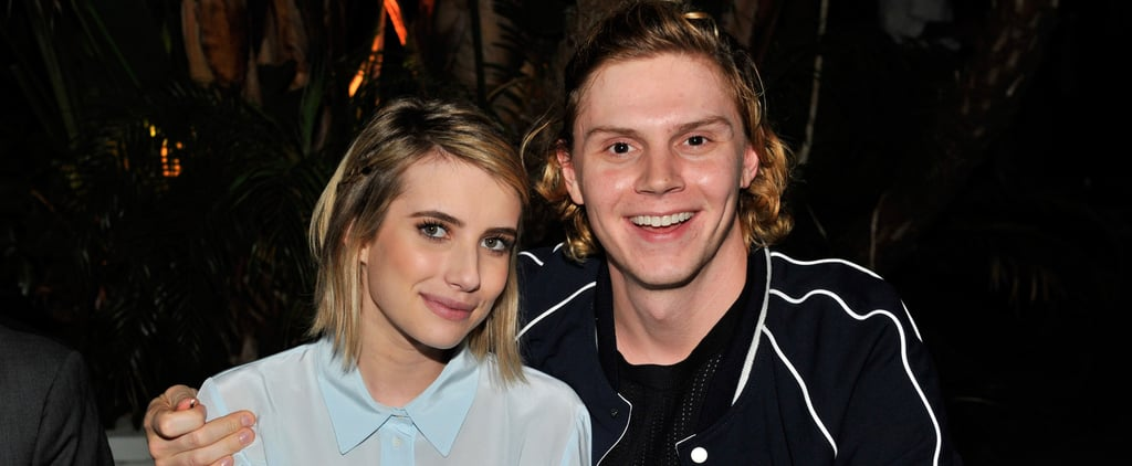 18 Times Emma Roberts and Evan Peters Put Their Love on Display For the Cameras