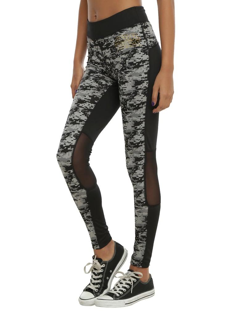 image Teen leggings star wars panties changing room
