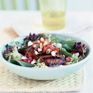 Fast & Easy Dinner: Grilled-Salmon Salad