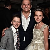 Noah and Millie Hung With Netflix's Chief Content Officer, Ted Sarandos