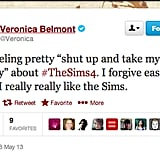 Despite all of The Sims brouhaha earlier this year, Veronica Belmont, host of The Sync Up, will be back for more.