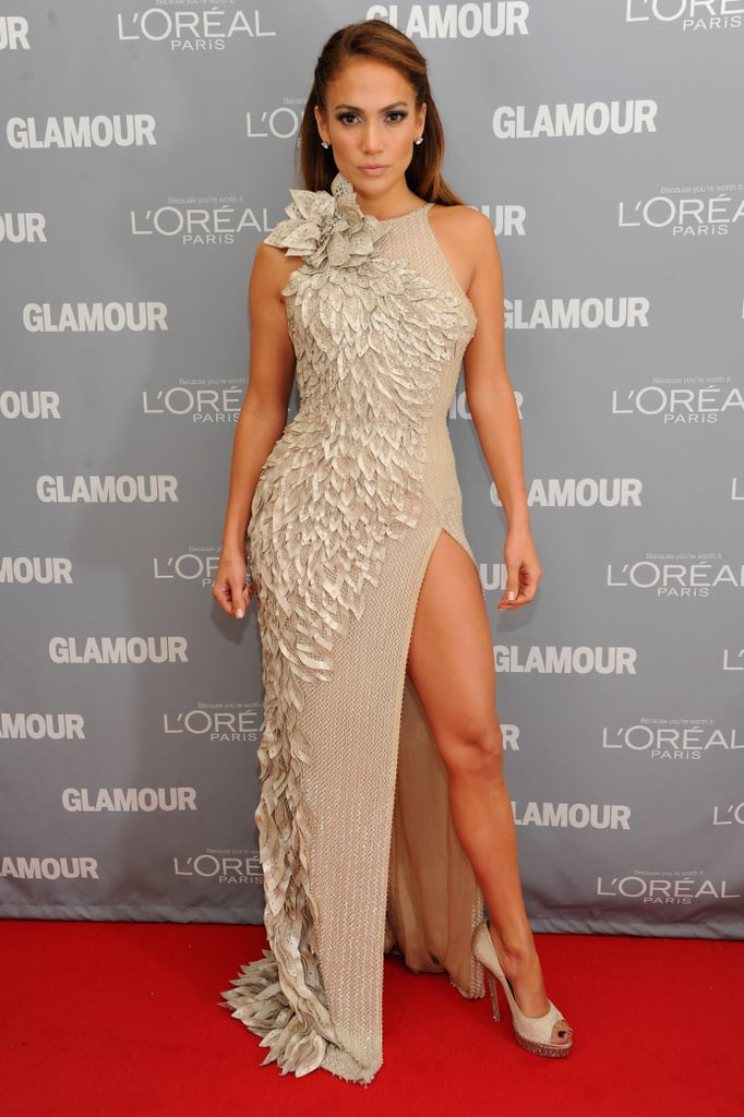 Jennifer Lopez flaunted her killer legs.