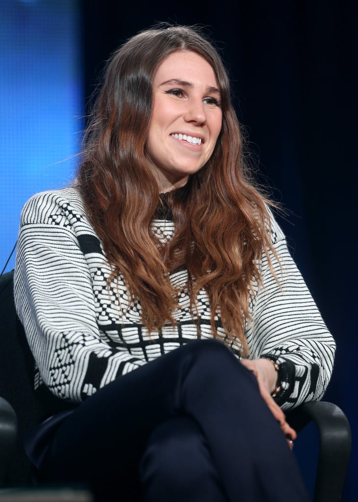 Zosia Mamet participated in the panel for Girls.