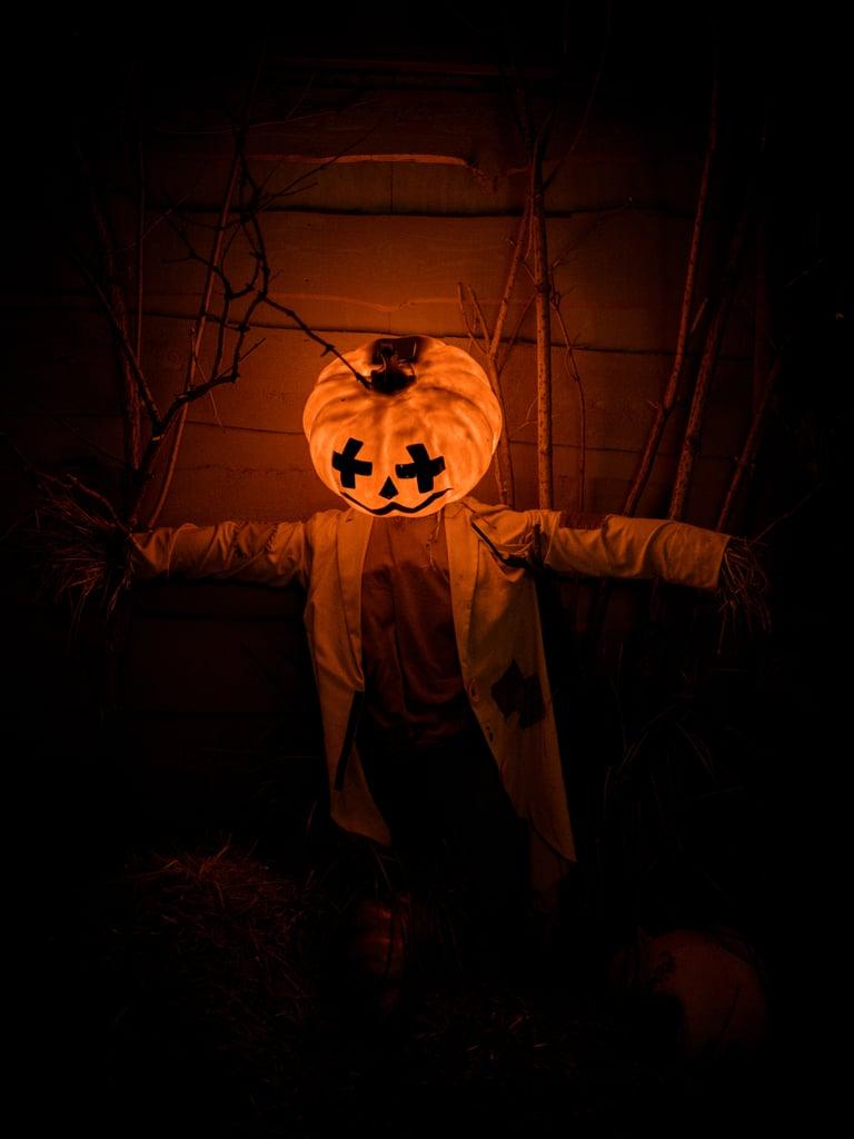 Jack-o'-Lantern Scarecrow iPhone Wallpaper | Best Halloween Phone Wallpapers  | POPSUGAR Technology UK Photo 25