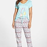 COZY ZOE Pizza & Donut Print Pants