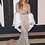 Jennifer Lopez at the 2015 Vanity Fair Oscar Party