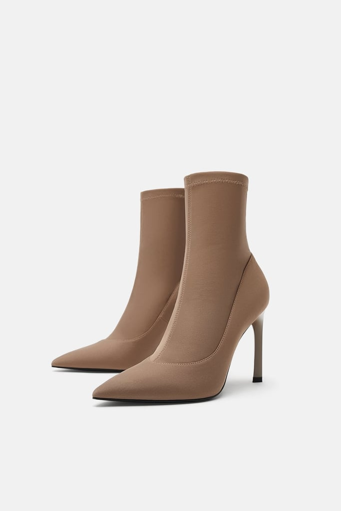 new collection latest discount unique design Zara Sock Boots   Best Sock Boots   POPSUGAR Fashion ...
