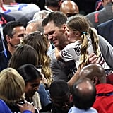 Tom Brady and Gisele Bündchen at 2019 Super Bowl Pictures