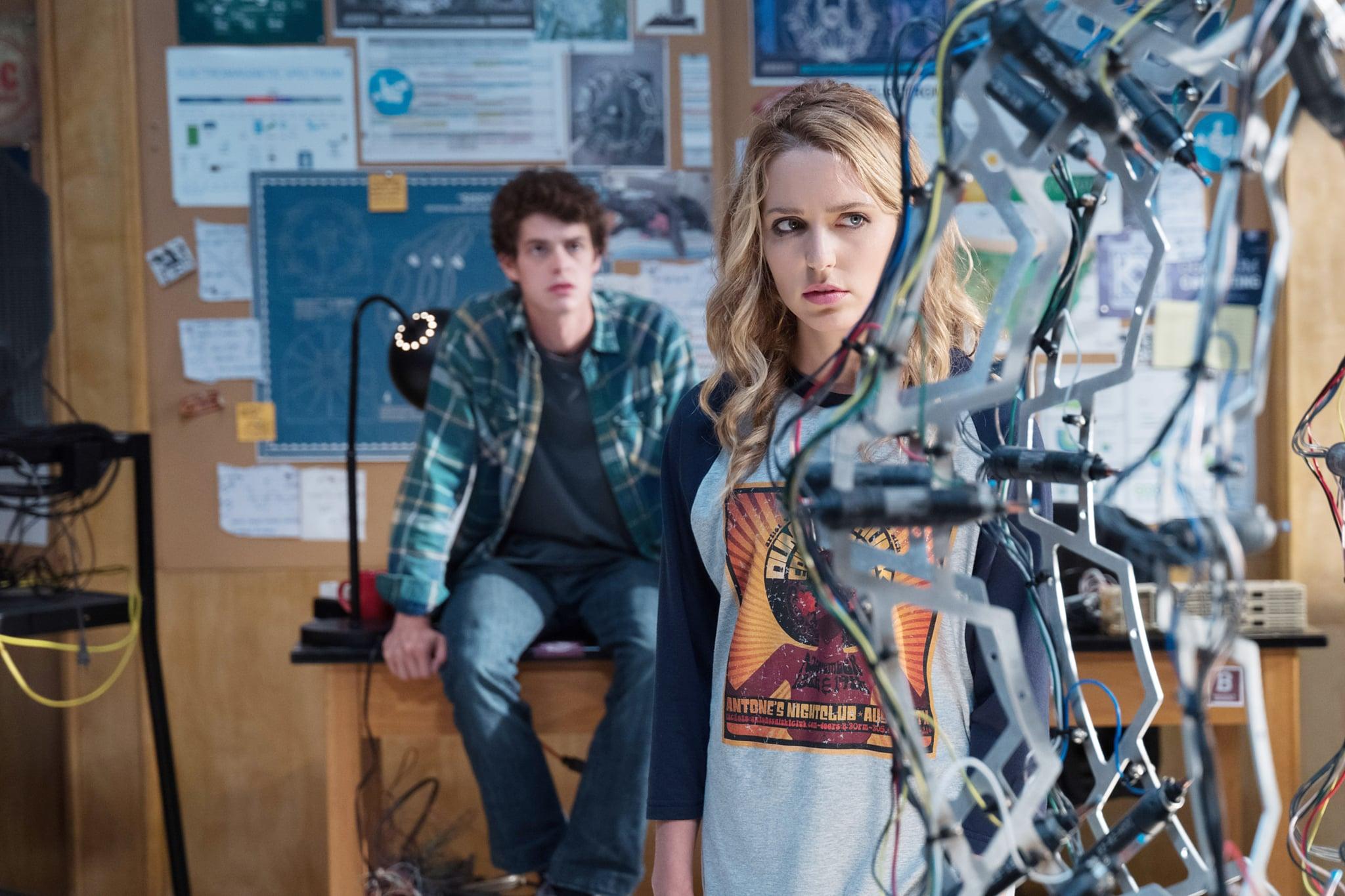 HAPPY DEATH DAY 2U, (aka HAPPY DEATH DAY TO YOU), from left: Israel Broussard, Jessica Rothe, 2019. ph: Michele K. Short /  Universal /Courtesy Everett Collection