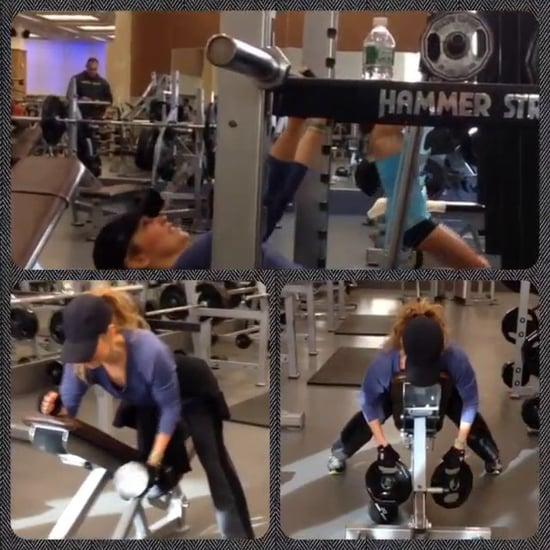 Thalia's Fitness Video 6