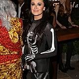 Kyle Richards as a Skeleton